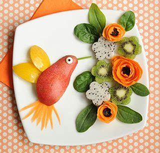 cute snack idea a healthy little hummingbird