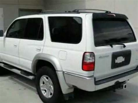 Gene Reed Toyota 2001 Toyota 4runner 4dr Limited 3 4l Auto Se Suv