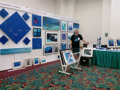 fort lauderdale boat show raffle pascal lecocq the painter of blue 174 art by pascal the