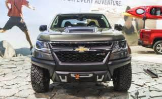 2017 chevy colorado zr2 release date price 2018 2019