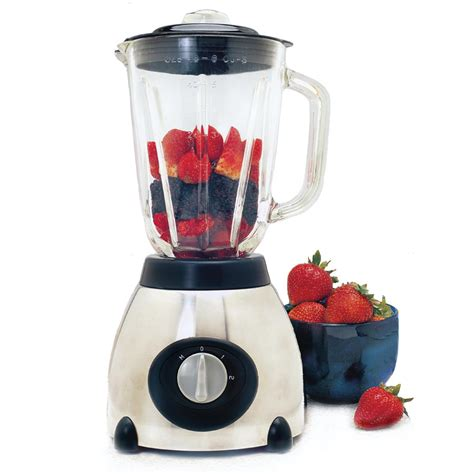 Blender Kitchen elite 174 48 oz kitchen blender with glass jar 212986