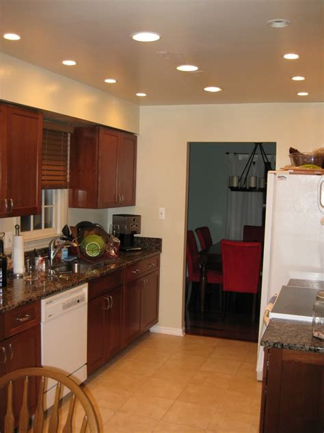 can lights in kitchen recessed how to install can lights in kitchen design