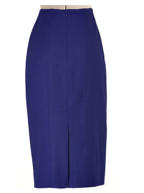 navy blue pencil skirt dress ala
