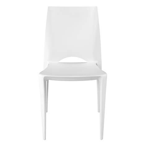 chaise blanche alinea cool chaise moule blanche blanc kiwi chaise les chaises