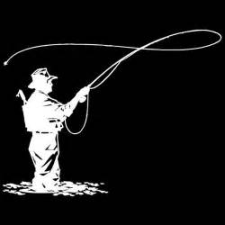 fly fisherman silhouette need this for my truck fly fishing stuff i