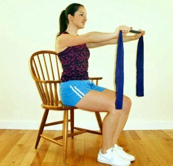 Chair Exercises With Bands by The World S Catalog Of Ideas