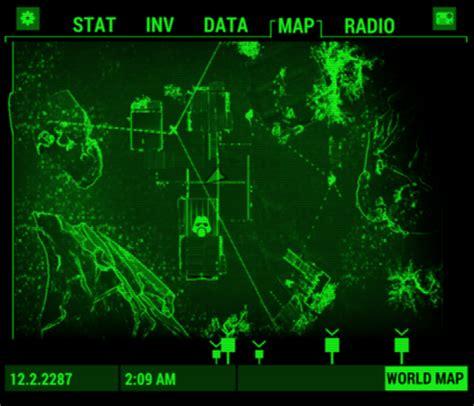 pip boy app local map fix fallout 4 / fo4 mods