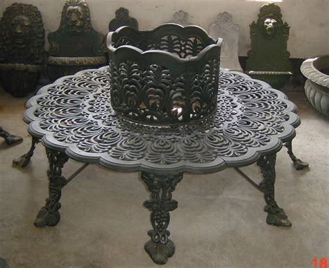 cast iron tree bench 1000 images about unique metal furniture on pinterest
