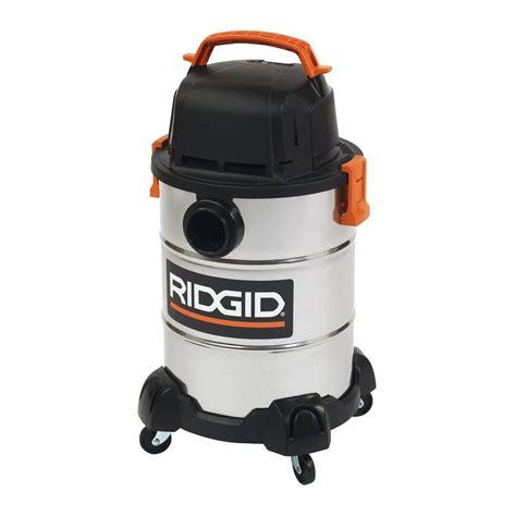 Rigid Vaccum ridgid 6 gal stainless steel vacuum