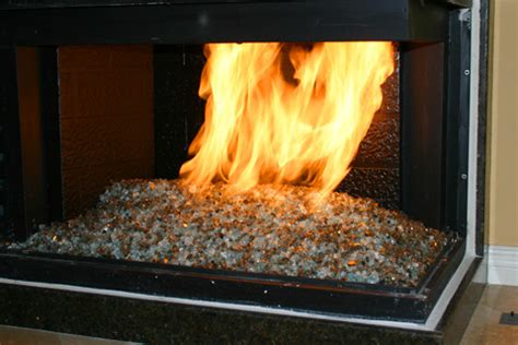 glass in fireplace self venting gas fireplaces fireplaces