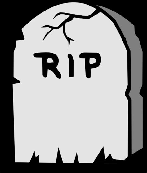 R I P rip tombstone png