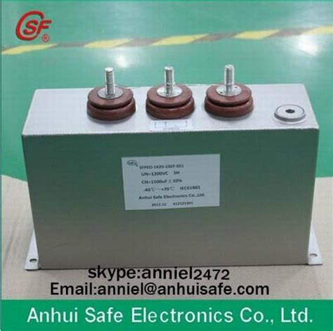 capacitor voltage inverter dc link capacitor type indusry inverter high voltage variable frequency pulse capacitor