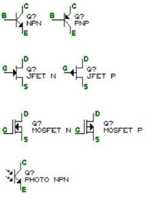 transistor bjt simbologia los transistores y sus aplicaciones monografias