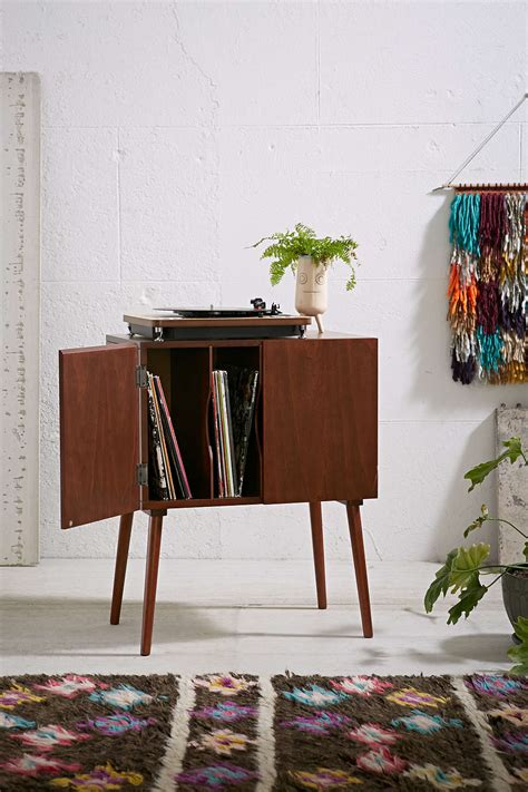mid century modern record simple and classy ways to store your vinyl record collection