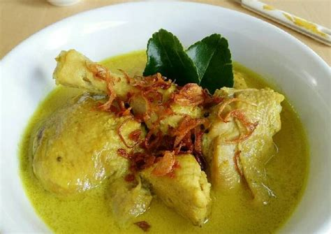 resep membuat opor ayam lebaran papasemar com resep opor ayam ketupat spesial lebaran