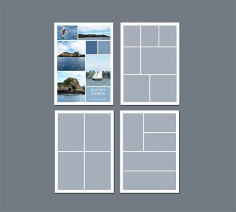 indesign template photo collage 17 best images about photo collage templates on pinterest