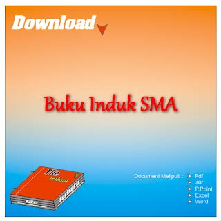 format buku induk download contoh format buku induk siswa sma gratis