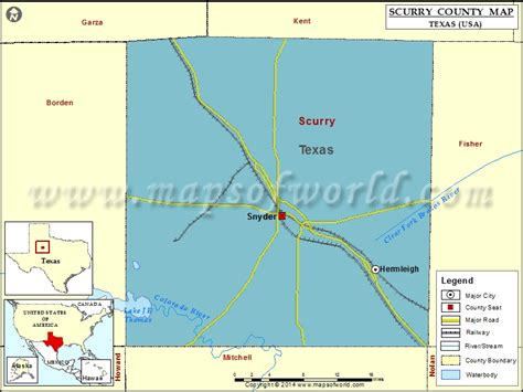scurry texas map scurry county map map of scurry county texas
