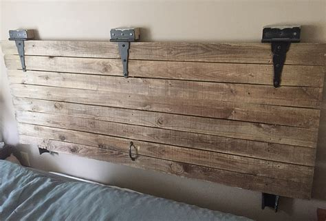 how to mount a door as a headboard barn door headboard furniture all design doors ideas