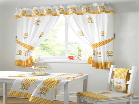 Curtain Kitchen Designs Kitchen Window Curtain Ideas