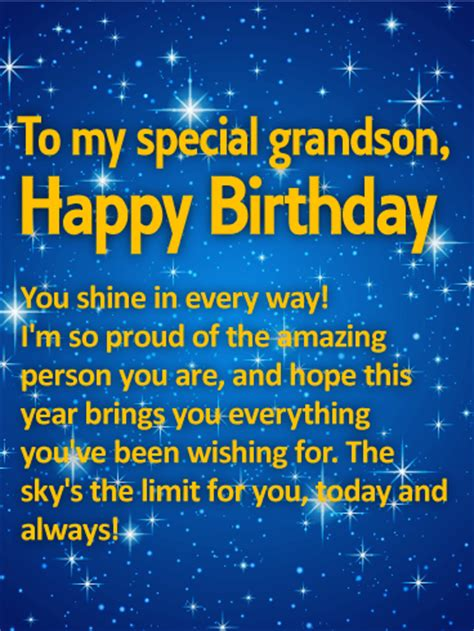 Birthday Quotes For 3 Year Old Grandson