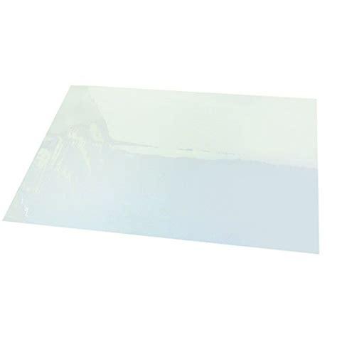 clear plastic desk protector 25 quot x 40 quot second sight ii plastic desk protector film