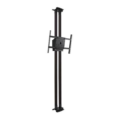 peerless modular series dual pole floor to ceiling kit