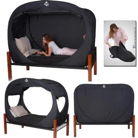 pop up tent bed privacy bed tent awesome inventions