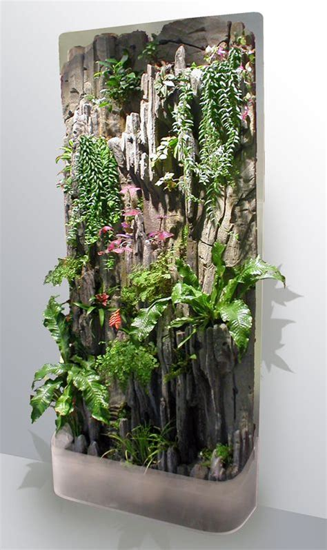 vertical indoor garden indoor vertical garden home land grown pinterest