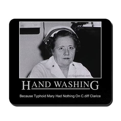 House Warming Gift Ideas Infection Control Humor 02 Mousepad By Gigglemed