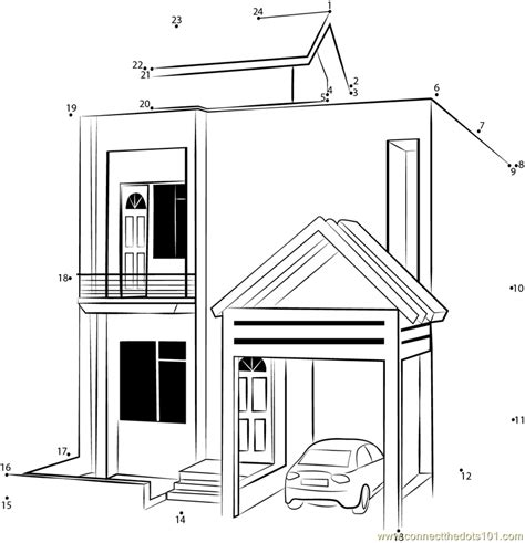 modern house coloring pages modern free coloring pages