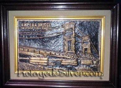 Frame Ukiran Rama Shinta Gold 36010 kotagedesilver manufaktur dan ritel kerajinan perak