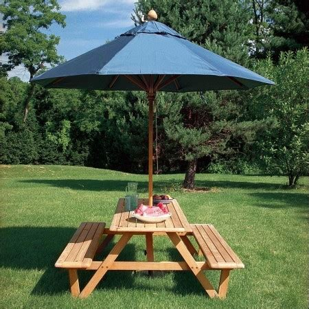 picnic bench with umbrella top 10 best outdoor picnic table benches 2018 best