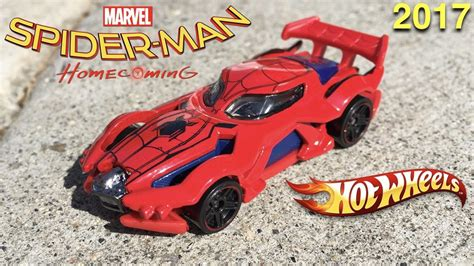 Wheels Spider Homecoming Marvel spider homecoming wheels car 2017 unbox new