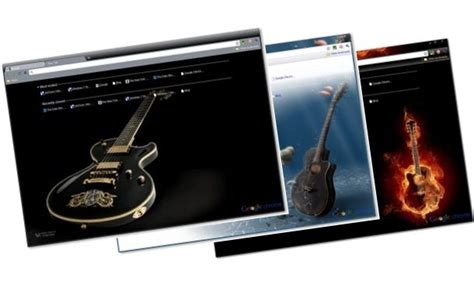 guitar theme for google chrome introducing google chrome themes gallery 15 themes at launch