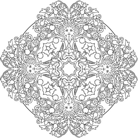 nature mandala coloring books nature 2