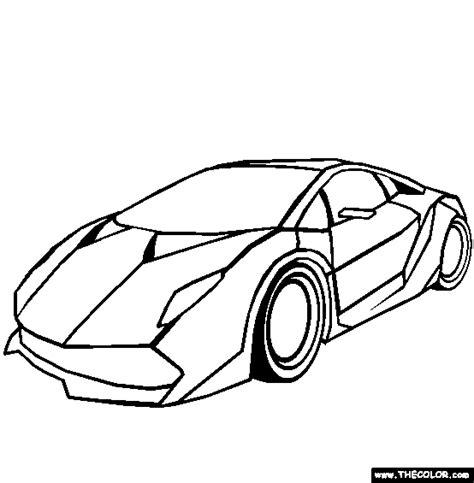 How To Draw Lamborghini Sesto Elemento Lamborghini Sesto Elemento Coloring Page