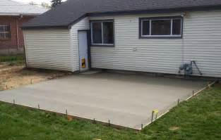 How Thick Does Concrete Need To Be For A Patio by Concrete Services Wiegman Concrete