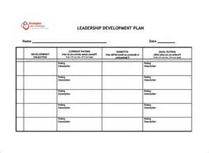 Leadership Development Plan Template by Development Plan Template 8 Free Word Pdf Documents