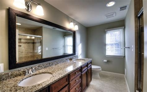 large framed bathroom mirrors ideas for framing a large bathroom mirror 28 images