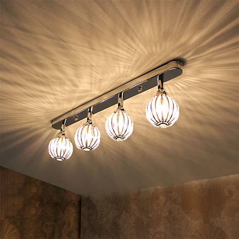ceiling l pro 4 lights 49cm modern effect