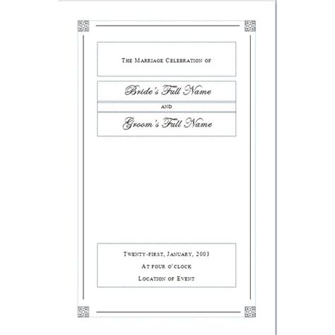Creating A Funeral Program Tips For Designing Your Own Personal Memorial Memorial Paper Template