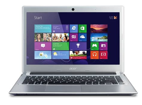 Laptop Acer 14 Inch Windows 8 Acer Aspire V5 431 14 Inch Laptop Windows 8 Os 4gb Ram 500 Gb Hdd Silver Ebay