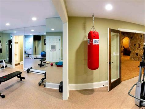 basement workout room ideas custom family friendly basement bryan sebring hgtv