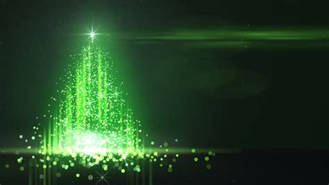 Green Lights Christmas Tree Stock Footage Video 2875432 Tree With Green Lights
