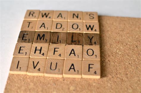 Diy Wedding Ideas Scrabble Coasters Tutorial