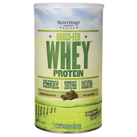 Garden Of Whey Protein Review Reserveage Nutrition Grass Fed Whey Protein Chocolate 12