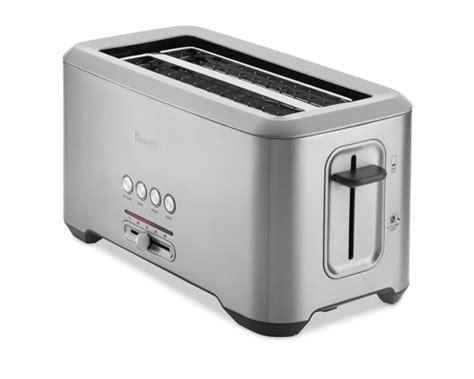 4 Slice Slot Toaster Reviews breville bit more toaster slot 4 slice williams sonoma