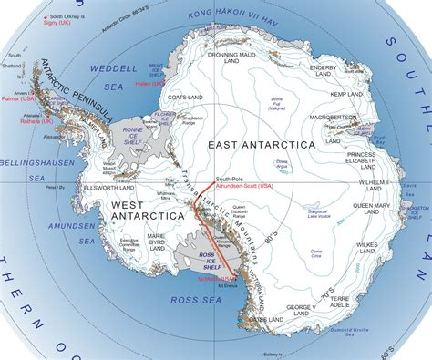 map of the south south pole map rubanko