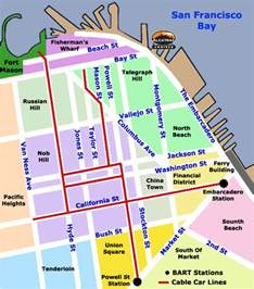 Trolley Map San Francisco by Fascinated By San Francisco S Cable Car Living In San